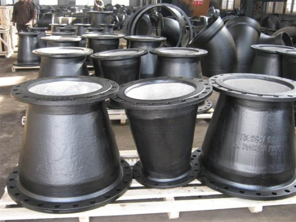 Ductile iron pipes fittings « preetam syndicate